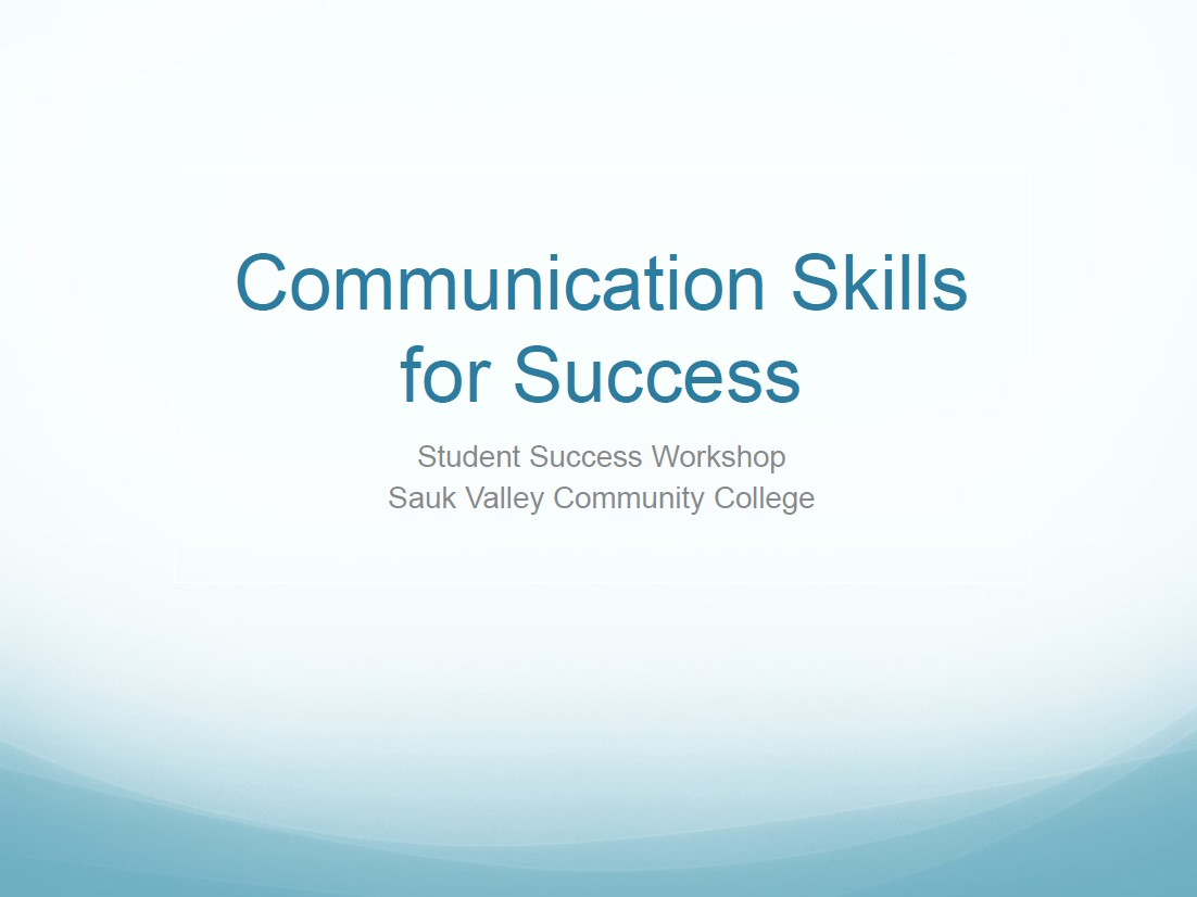 Communication Skills for Success