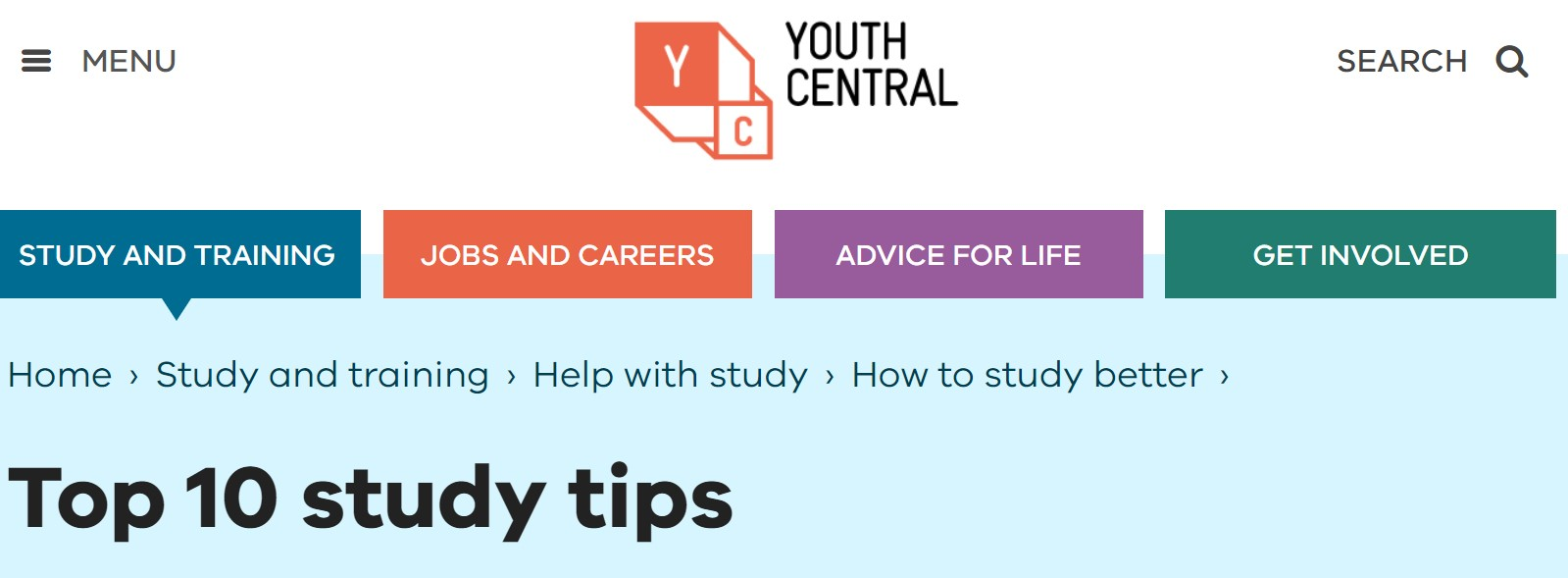 Top 10 Study Tips
